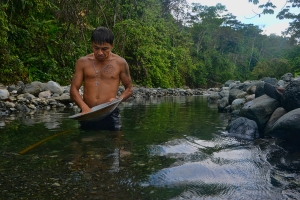 """""""Edgar"""" says he's been inside Corcovado National Park on the Osa Peninsula to mine gold many times. He's even been caught by Environment Ministry officials – twice. If caught a third time it could result in an eight-year prison sentence, but he says the money's worth the risk."""